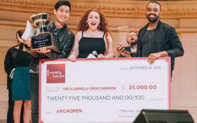 The International Championship of A Cappella Open – Year Three!